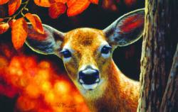 Surprise Deer Jigsaw Puzzle