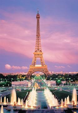 Eiffel Tower Paris France Europe Jigsaw Puzzle