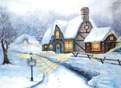 Snowy Journey Winter Jigsaw Puzzle