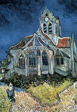 The Church at Auvers Churches Jigsaw Puzzle