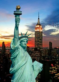 The Statue Of Liberty Cities Jigsaw Puzzle