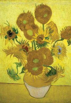 Vase of Sunflowers Flowers Jigsaw Puzzle