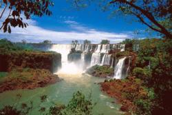 Water Falls Waterfalls Jigsaw Puzzle