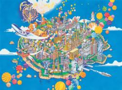 World Treasures Maps / Geography Jigsaw Puzzle