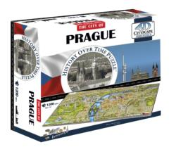 Prague, Czech Rep Landmarks / Monuments Jigsaw Puzzle