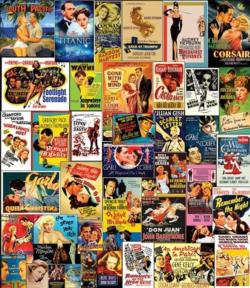 Movie Classics Collage Jigsaw Puzzle