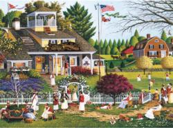 Love Americana & Folk Art Jigsaw Puzzle
