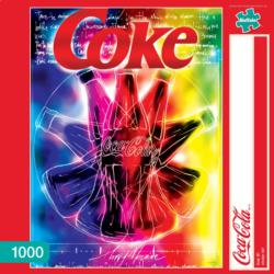 Live it (Coca-Cola) Coca Cola Jigsaw Puzzle