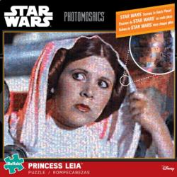 Princess Leia Sci-fi Photomosaic