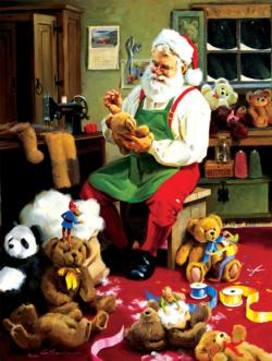 Bearly Christmas Christmas Jigsaw Puzzle
