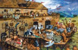It's A Zoo Boats Jigsaw Puzzle