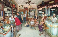 Old Fashioned Soda Shop Dementia / Alzheimer's Large Piece