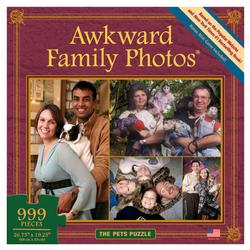 The Pets Puzzle (Awkward Family Photos) Collage Jigsaw Puzzle