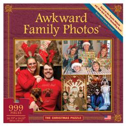 The Christmas Puzzle (Awkward Family Photos) Collage Jigsaw Puzzle
