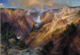 The Grand Canyon of the Yellowstone Waterfalls Jigsaw Puzzle