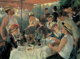 Luncheon of the Boating Party People Jigsaw Puzzle