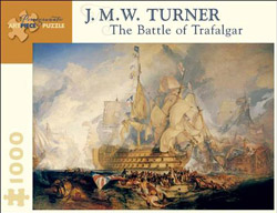 The Battle of Trafalgar - Scratch and Dent Pirates Jigsaw Puzzle