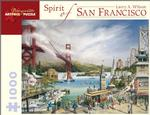 Spirit of San Francisco Bridges Jigsaw Puzzle