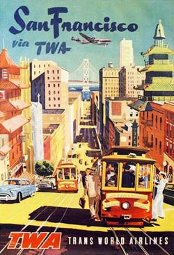 See San Francisco (TWA Travel Posters) - Scratch and Dent Cities Jigsaw Puzzle