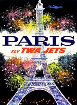 The City of Light (TWA Travel Posters) Travel Jigsaw Puzzle
