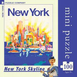 NYC Skyline  (Mini) Travel Jigsaw Puzzle