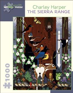 The Sierra Range Contemporary & Modern Art Jigsaw Puzzle