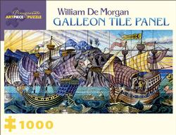 Galleon Tile Panel Boats Jigsaw Puzzle