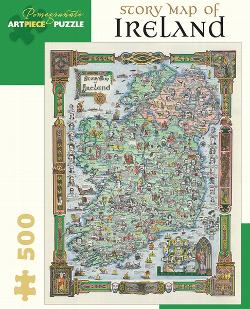 Story Map Of Ireland Ireland Jigsaw Puzzle
