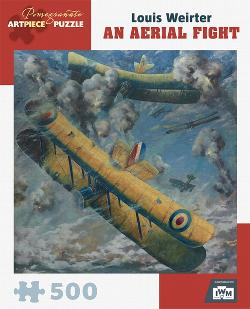 Aerial Fight Contemporary & Modern Art Jigsaw Puzzle