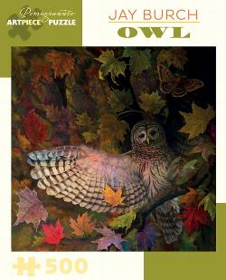 Owl Fall Jigsaw Puzzle