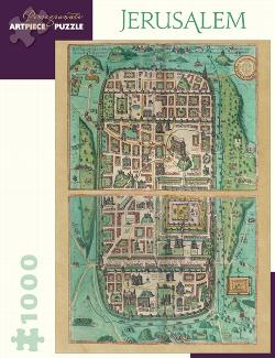 Jerusalem Maps Jigsaw Puzzle