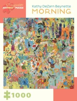 Morning Contemporary & Modern Art Jigsaw Puzzle