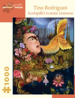 Xochipilli's Ecstatic Universe Cultural Art Jigsaw Puzzle