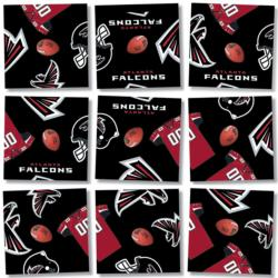 Atlanta Falcons NFL Football Non-Interlocking Puzzle