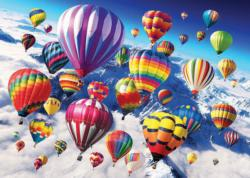 Above the Skies Balloons Jigsaw Puzzle