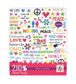 My Life - 210pc Glitter Graphics Jigsaw Puzzle