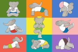 Namaste Babar - Floor Puzzle Nostalgic / Retro Children's Puzzles