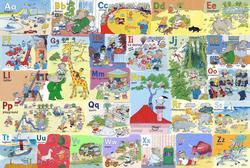 Babar's Alphabet - Floor Puzzle Nostalgic / Retro Children's Puzzles