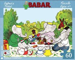 Babar's Picnic Picnic Jigsaw Puzzle