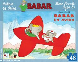Babar en Avion Cartoons Jigsaw Puzzle