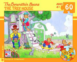 The Tree House (The Berenstain Bears) Nostalgic / Retro Jigsaw Puzzle