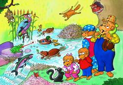 Woodland Animals (The Berenstain Bears) Berenstain Bears Children's Puzzles