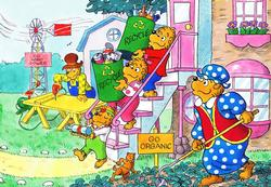 Going Green! (The Berenstain Bears) Berenstain Bears Children's Puzzles