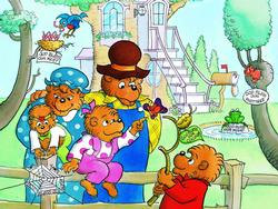 The Berenstain Bears Floor Puzzle - God Bless Our Home Berenstain Bears Children's Puzzles