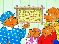 The Golden Rule (The Berenstain Bears) Nostalgic / Retro Jigsaw Puzzle