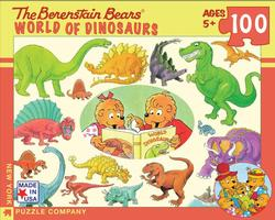 World of Dinosaurs (The Berenstain Bears) Dinosaurs Jigsaw Puzzle