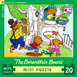 Spring Day (The Berenstain Bears) (Mini) Movies / Books / TV Miniature Puzzle