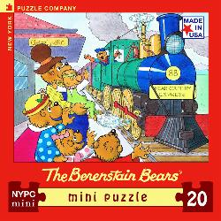 All Aboard (The Berenstain Bears) (Mini) Trains Jigsaw Puzzle