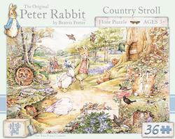 Peter Rabbit, Country Stroll - Floor Nostalgic / Retro Children's Puzzles