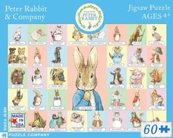 Peter Rabbit & Company (Peter Rabbit) Nostalgic / Retro Jigsaw Puzzle